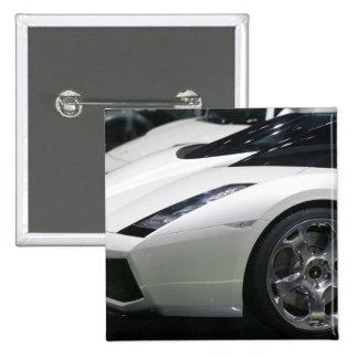 SWITZERLAND, GENEVA: 75th Annual Geneva Auto 11 15 Cm Square Badge