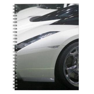 SWITZERLAND, GENEVA: 75th Annual Geneva Auto 11 Notebook