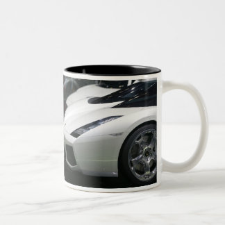 SWITZERLAND, GENEVA: 75th Annual Geneva Auto 11 Two-Tone Coffee Mug