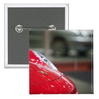 SWITZERLAND, GENEVA: 75th Annual Geneva Auto 2 15 Cm Square Badge