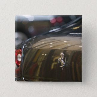 SWITZERLAND, GENEVA: 75th Annual Geneva Auto 3 15 Cm Square Badge