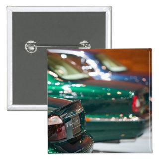SWITZERLAND, GENEVA: 75th Annual Geneva Auto 4 15 Cm Square Badge