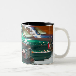 SWITZERLAND, GENEVA: 75th Annual Geneva Auto 4 Two-Tone Coffee Mug