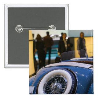 SWITZERLAND, GENEVA: 75th Annual Geneva Auto 7 15 Cm Square Badge