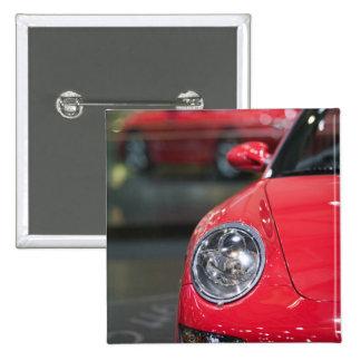 SWITZERLAND, GENEVA: 75th Annual Geneva Auto 8 15 Cm Square Badge