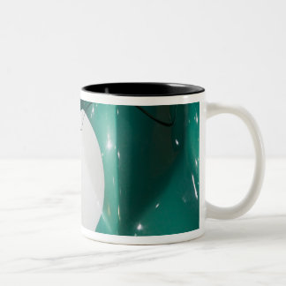 SWITZERLAND, GENEVA: 75th Annual Geneva Auto Two-Tone Coffee Mug