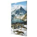 Switzerland, Grindelwald, Bernese Alps, View Canvas Print
