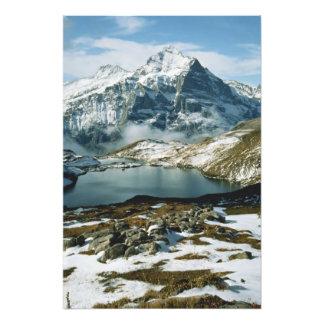 Switzerland, Grindelwald, Bernese Alps, View Art Photo