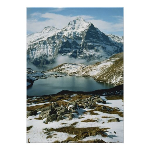 Switzerland, Grindelwald, Bernese Alps, View Print