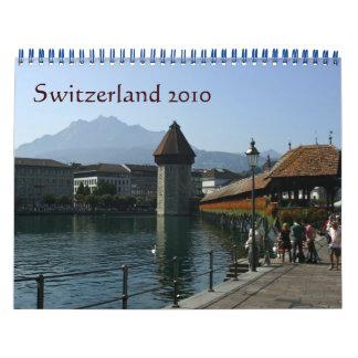 Switzerland in the cities 2010 wall calendar