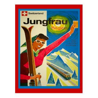 Switzerland jungfrau region postcard