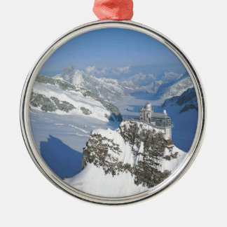 Switzerland, Jungfraujoch, top of Europe Christmas Ornament
