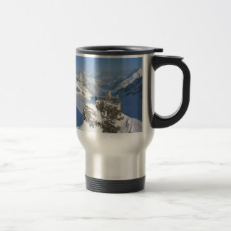 Switzerland, Jungfraujoch, top of Europe Travel Mug