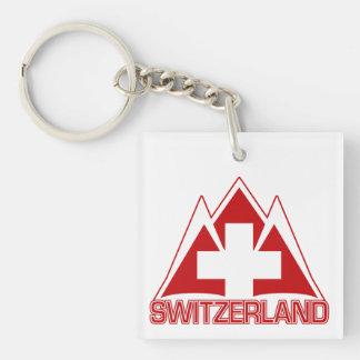 SWITZERLAND key chain