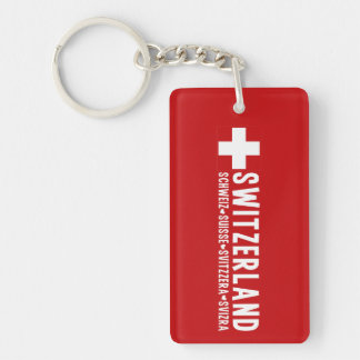 SWITZERLAND key chain