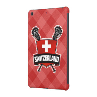 Switzerland Lacrosse Logo iPad Cover