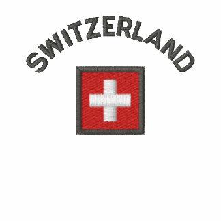 Switzerland Ladies Polo With Swiss Pocket Flag