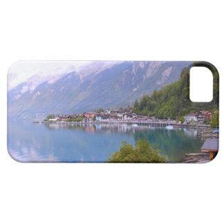 Switzerland, Lakeside village, Thunersee iPhone 5 Cover