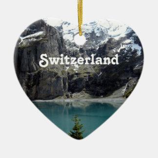 Switzerland Landscape Christmas Ornament