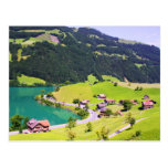 Switzerland landscape postcards