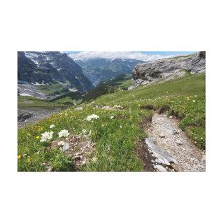 Switzerland - Lauterbrunnen Valley - Canvas
