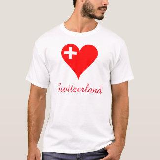 Switzerland love heart T-Shirt