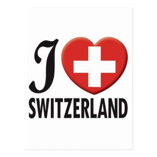 Switzerland Love Post Cards