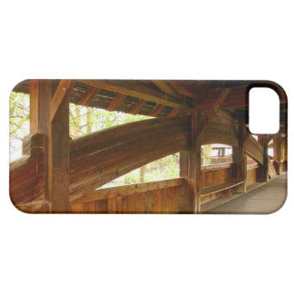 Switzerland, Lucerne inside medieval bridge iPhone 5 Case