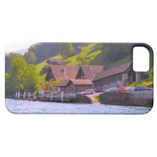 Switzerland, Lucerne lakeside farm iPhone 5 Covers