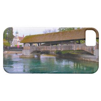 Switzerland,  Lucerne, Medieval wooden bridge iPhone 5 Case