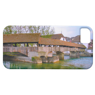 Switzerland, Lucerne mill bridge iPhone 5 Cover
