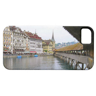 Switzerland, Lucerne old bridge iPhone 5 Cover