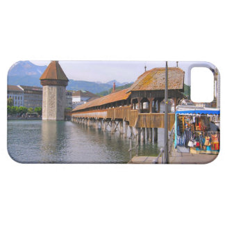 Switzerland, Lucerne Wooden bridge Barely There iPhone 5 Case
