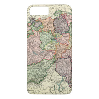 Switzerland Map iPhone 7 Plus Barely There iPhone 7 Plus Case