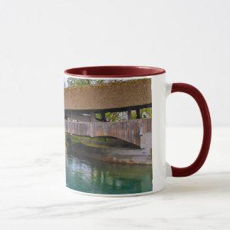 Switzerland,medieval wooden bridge mug