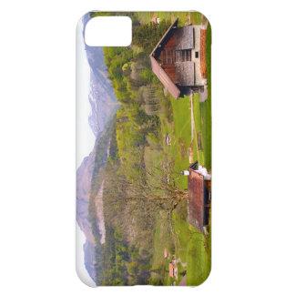 Switzerland,.Mountain scenery iPhone 5C Case