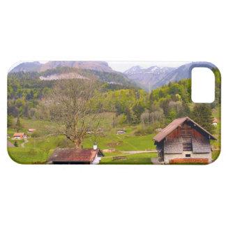 Switzerland Mountain scenery iPhone 5 Cases