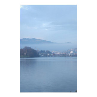 Switzerland mountains stationery