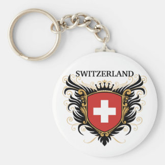 Switzerland [personalize] key ring