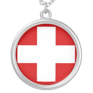 Switzerland Personalized Necklace