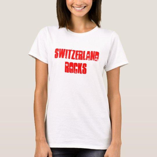 Switzerland Rocks souvenir T-Shirt