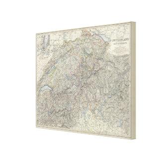 Switzerland, Savoy, Piedmont Canvas Print
