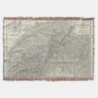 Switzerland, Savoy, Piedmont Throw Blanket