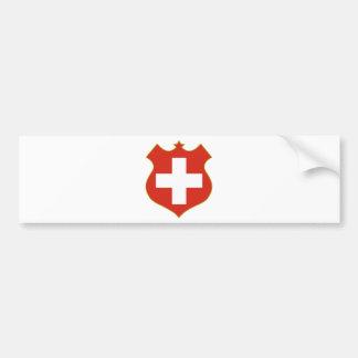 Switzerland-shield.png Bumper Sticker