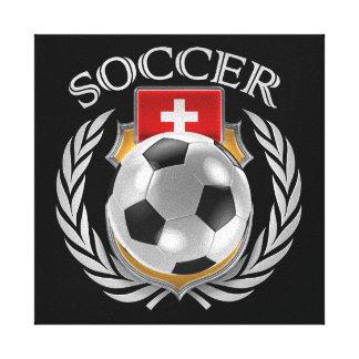 Switzerland Soccer 2016 Fan Gear Canvas Print