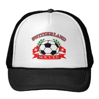 Switzerland soccer ball designs hat