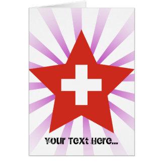 Switzerland Star Card