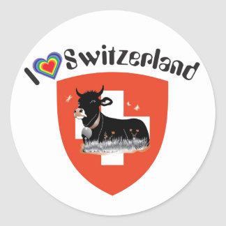 Switzerland Suisse Svizzera Svizra sticker