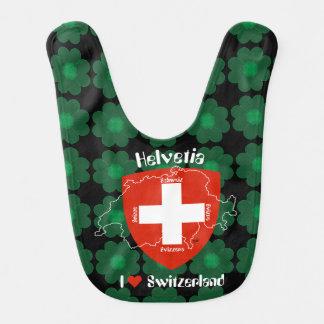 Switzerland Suisse Svizzera Svizra Switzerland Bib