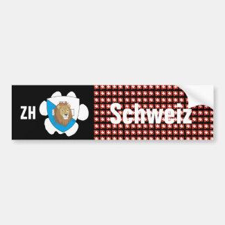 Switzerland Svizzera Suisse Zurich autosticker